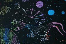 Автор: Зарипова Камила   Космическая одиссея
