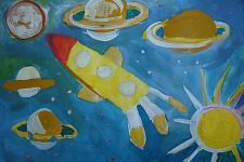 Автор: Казаринова Александра   Космическая одиссея