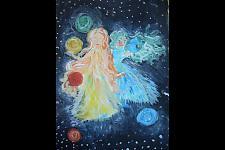 Автор: Твердунова  Анастасия Небесные Ангелы   Космическая одиссея