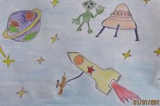 Автор: Шибанова Ксения   Космическая одиссея