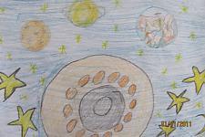 Автор: Сунцова Елизавета   Космическая одиссея