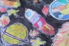 Автор: Кучинская Лала   Космическая одиссея