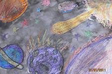 Автор: Пашкова Виолетта   Космическая одиссея