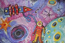 Автор: Стеклова Анастасия   Космическая одиссея