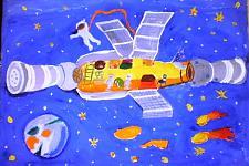 Автор: Комарова Ксения   Космическая одиссея