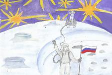 Автор: Чернявская Даяна   Космическая одиссея