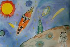 Автор: Абдулаева Катя   Космическая одиссея