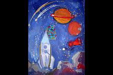 Автор: Макаровская Алина   Космическая одиссея