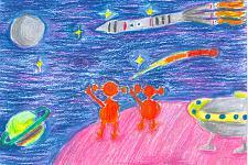 Автор: Верещагина Диана   Космическая одиссея