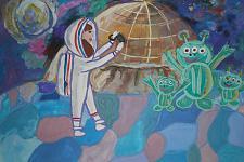 Автор: Баранова Люба   Космическая одиссея