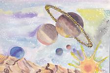Автор: Маруженко Даша   Космическая одиссея