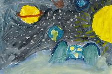 Автор: Позднякова Ульяна   Космическая одиссея