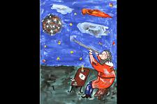 Автор: Кадацкая Виктория   Космическая одиссея