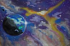Автор: Черномазова Дарья   Космическая одиссея