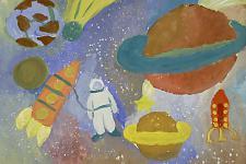 Автор: Чалдаева Наталья   Космическая одиссея