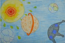 Автор: Сихаева Анастасия   Космическая одиссея