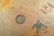Автор: Акопян Гоар   Космическая одиссея