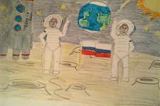 Автор: Алексашина Анастасия   Космическая одиссея