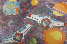 Автор: Аверьянова Полина   Космическая одиссея