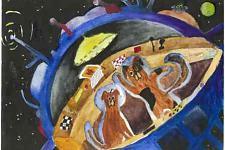 Автор: Калинина Настя   Космическая одиссея