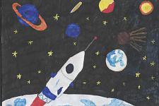 Автор: Шишкина Ирина   Космическая одиссея