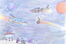 Автор: Михин   Космическая одиссея