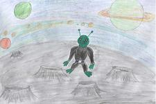 Автор: Ильина Ангелина   Космическая одиссея