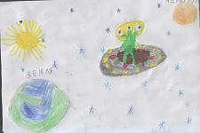 Автор: Кушларова Карина   Космическая одиссея