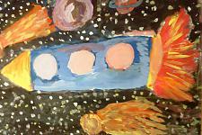 Автор: Смагина Мария   Космическая одиссея