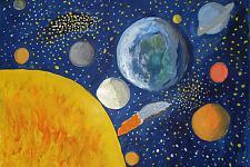 Автор: Добровольская Анастасия   Космическая одиссея
