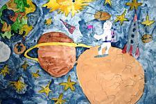 Автор: Михейкина Дарья   Космическая одиссея