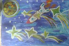 Автор: Загайнова Дарья   Космическая одиссея