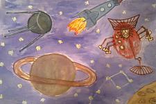 Автор: Набатова Елизавета   Космическая одиссея