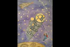 Автор: Набатова Виктория   Космическая одиссея