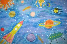 Автор: Дажаева Лейла   Космическая одиссея