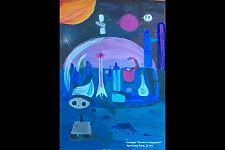Автор: Архипова Лиза   Космическая целина
