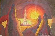 Автор: Литвинова Алиса   Космическая одиссея