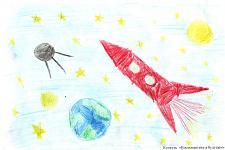 Автор: Ключерева Настя   Космическая одиссея