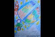 Автор: Балышева Ульяна   Космическая одиссея