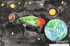 Автор: Кудасова Лиза   Космическая одиссея