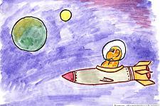 Автор: Трепышко Лиза   Космическая одиссея