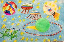 Автор: Сазыкина Анастасия   Космическая одиссея