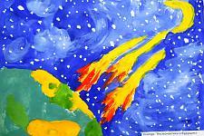 Автор: Колокольцева Елизавета   Космическая одиссея