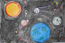 Автор: Метёлкина Ксения   Космическая одиссея