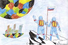 Автор: Тулина Ксения   Космическая одиссея