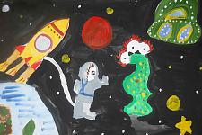 Автор: Варя Андрющенко   Космическая целина
