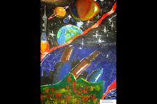 Автор: Ауезхан Асылан   Космическая одиссея