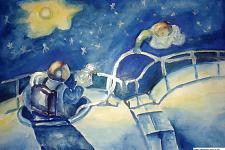 Автор: Кенжехан Самат   Космическая одиссея