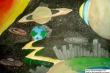 Автор: Токтасын Ернар   Космическая одиссея