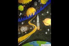 Автор: Сарсенбай Азамат   Космическая одиссея